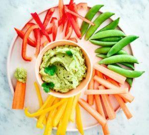 Avocado Hummus & Crudités