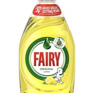 Fairy Original Lemon Washing Up Liquid 433ml